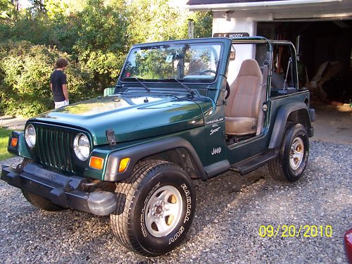 used 1999 jeep wrangler tj for sale new york ny used cars for sale. Black Bedroom Furniture Sets. Home Design Ideas