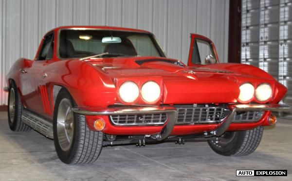 1966 chevrolet corvette red 1966 chevrolet corvette 427 trim classic car in kansas city mo. Black Bedroom Furniture Sets. Home Design Ideas