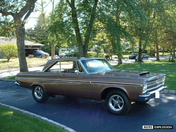 1965 Plymouth Belvedere Gold 1965 Plymouth Belvedere
